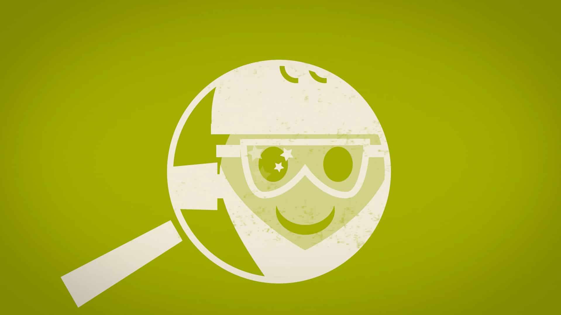 Gros plan sur un ouvrier avec les lunettes propres